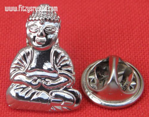 Buddha Lapel Hat Cap Tie Pin Badge - Buddhism Buddhist Gift Souvenir Symbol New